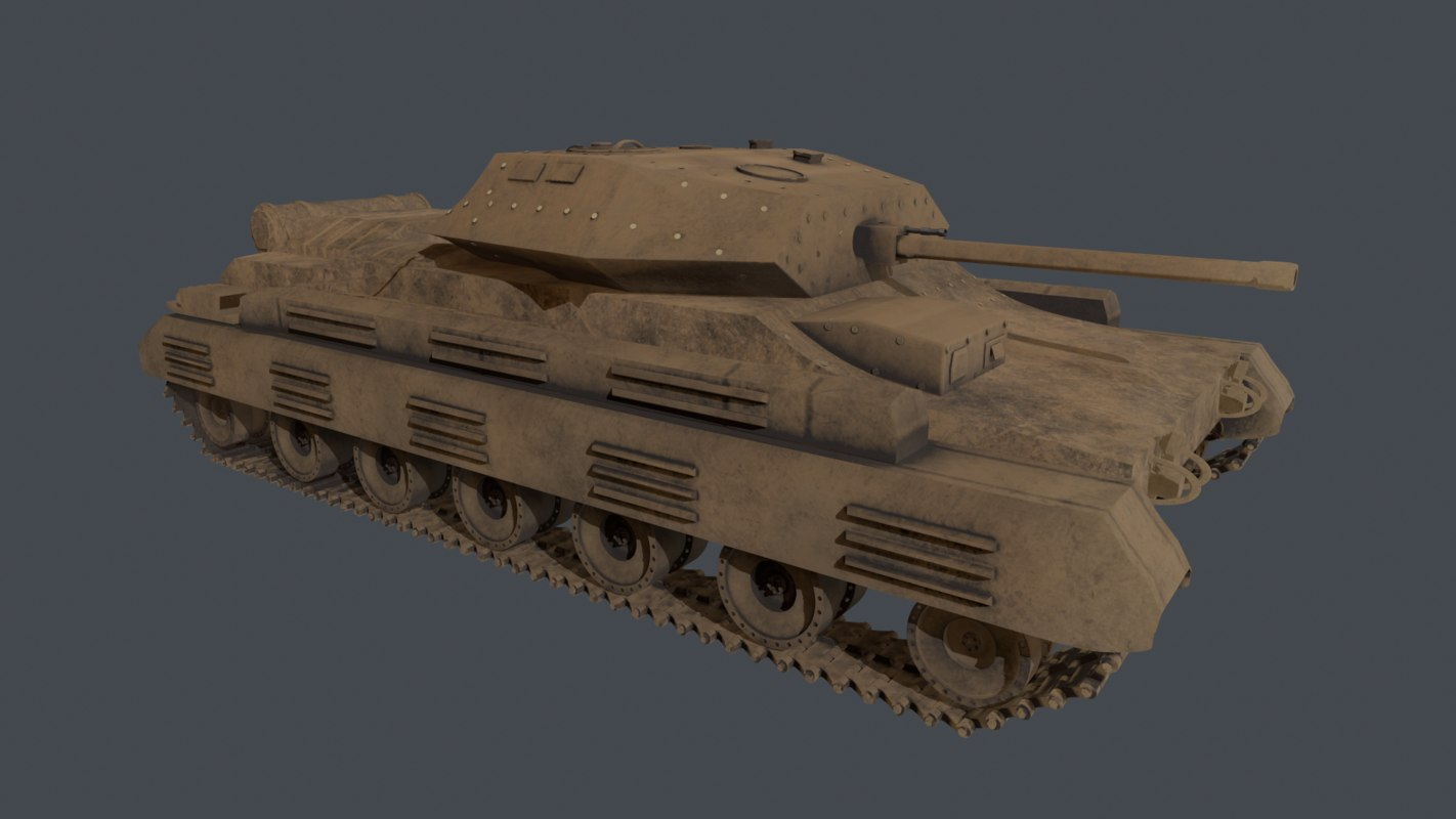 tank crusader iii model