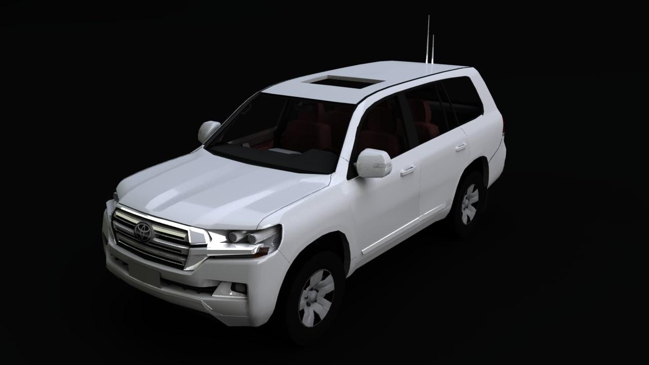land cruiser 3D model