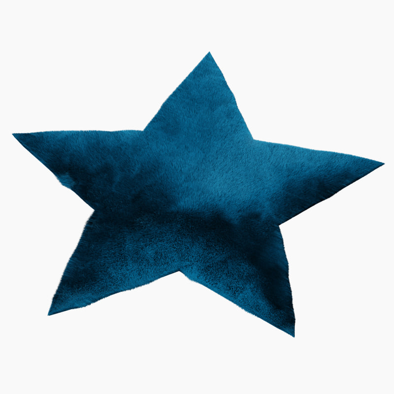 rug star 3D model