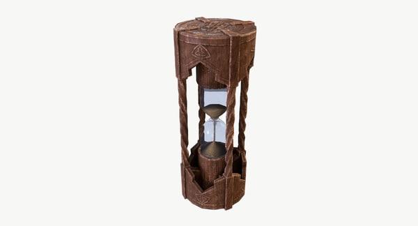 3D sand clock