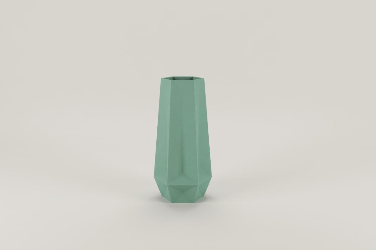3D 20 cm vase model
