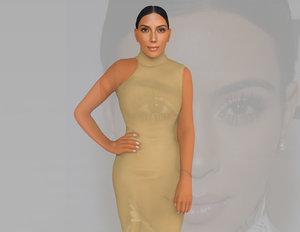 3D kim kardashian ready color