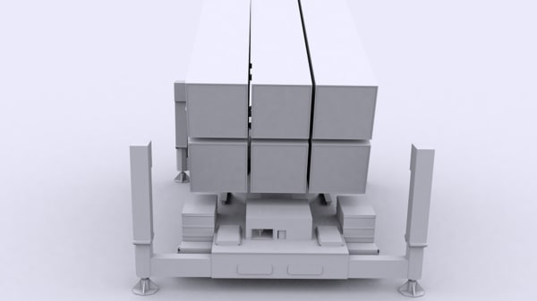 3d nasams surface air model