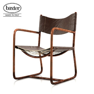baxter rimini deck chair model