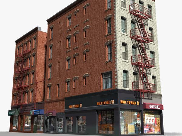new york buildings - 3D