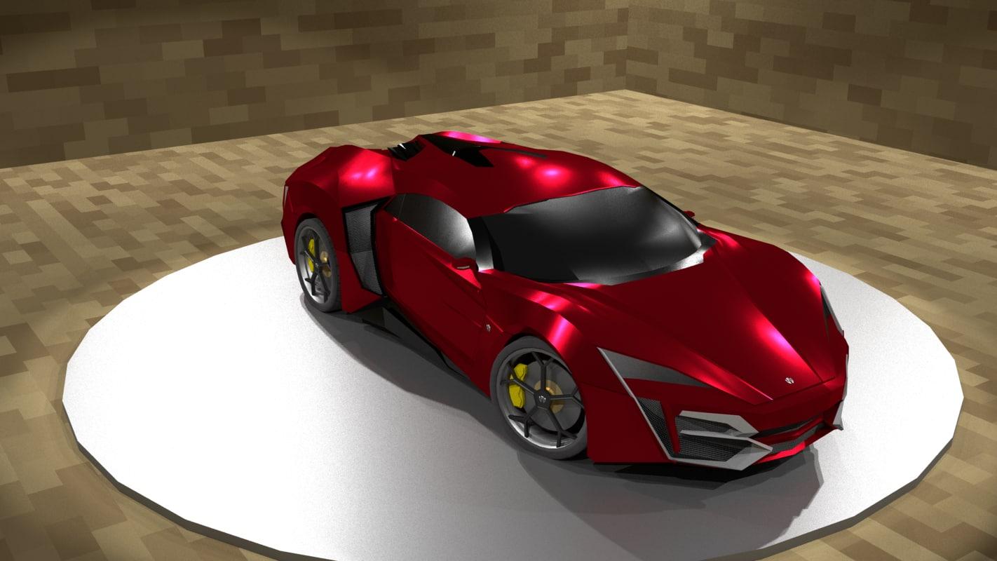 lykan hypersport 3D model