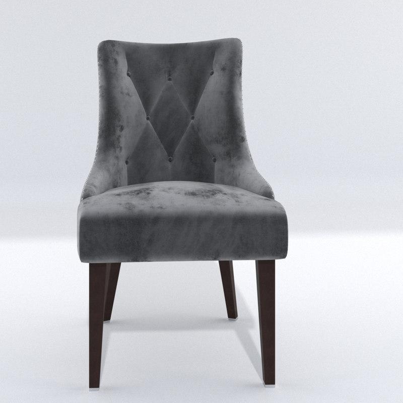 chair 001 3D model