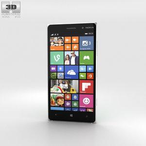 3D model nokia lumia 830