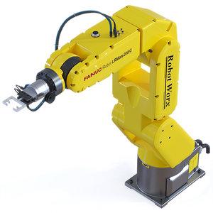 3D model fanuc robot arm