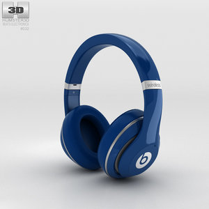 beats dr dre 3D model