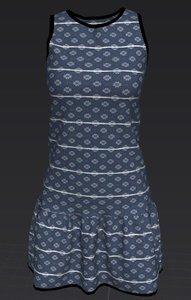 vestido 3D model