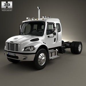 freightliner m2 extended 3D