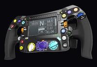 F1 stering wheel W08