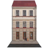 3D facade historic building model