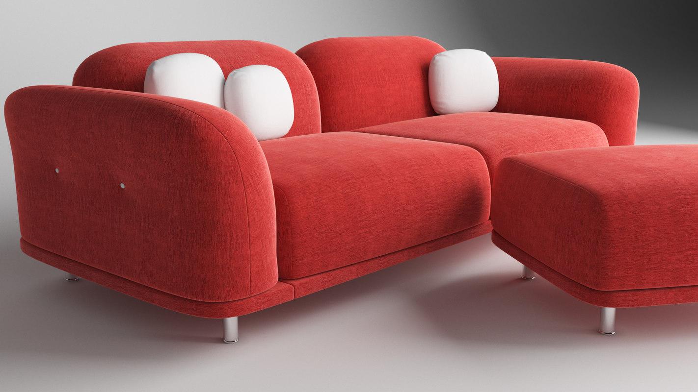 moooi cloud sofa model