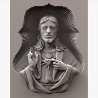 Jesus Christ Sculpture for CNC