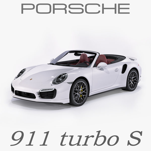 porsche 911 turbo s 3ds