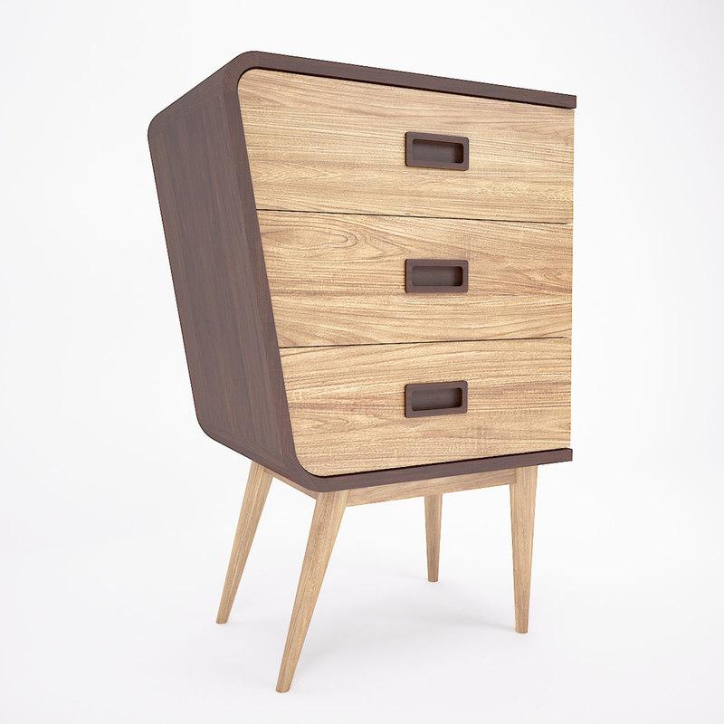 3D retro cabinet