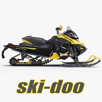 Snowmobile Ski-Doo MX Z X 2013 Cross-country