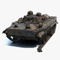 3D model low-poly bmp-3