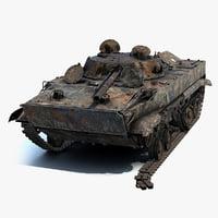 BMP-3 Burnt