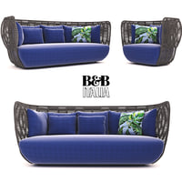 B&B Italia Bay Sofa