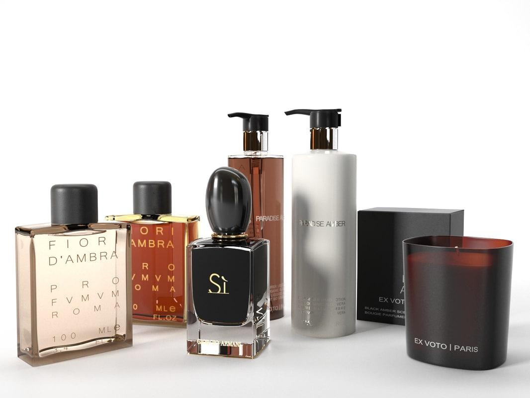 3D perfume set 03