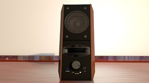 3D speaker