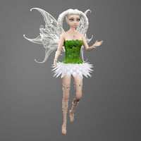 3d model forest fairy