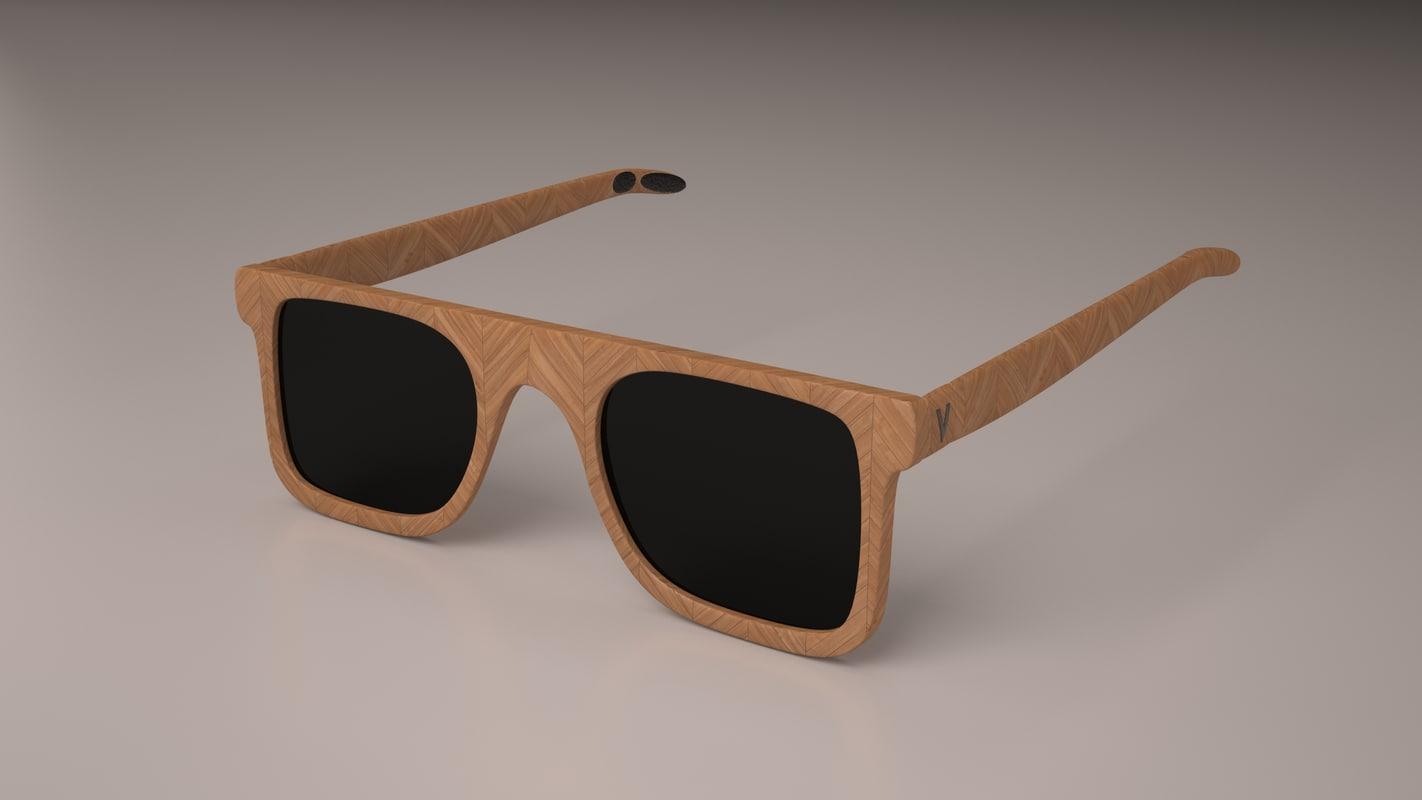 sunglasses glasses sun 3D