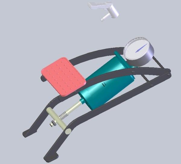 3D foot pump