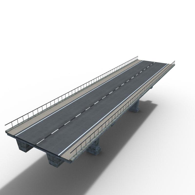 3D bridge concrete