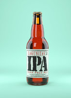 Beer Bottle Lagunitas IPA