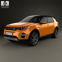 discovery land rover 3D model