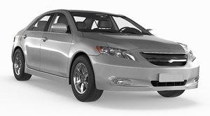 3d generic mid-size sedan m