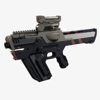 3D gun smg model