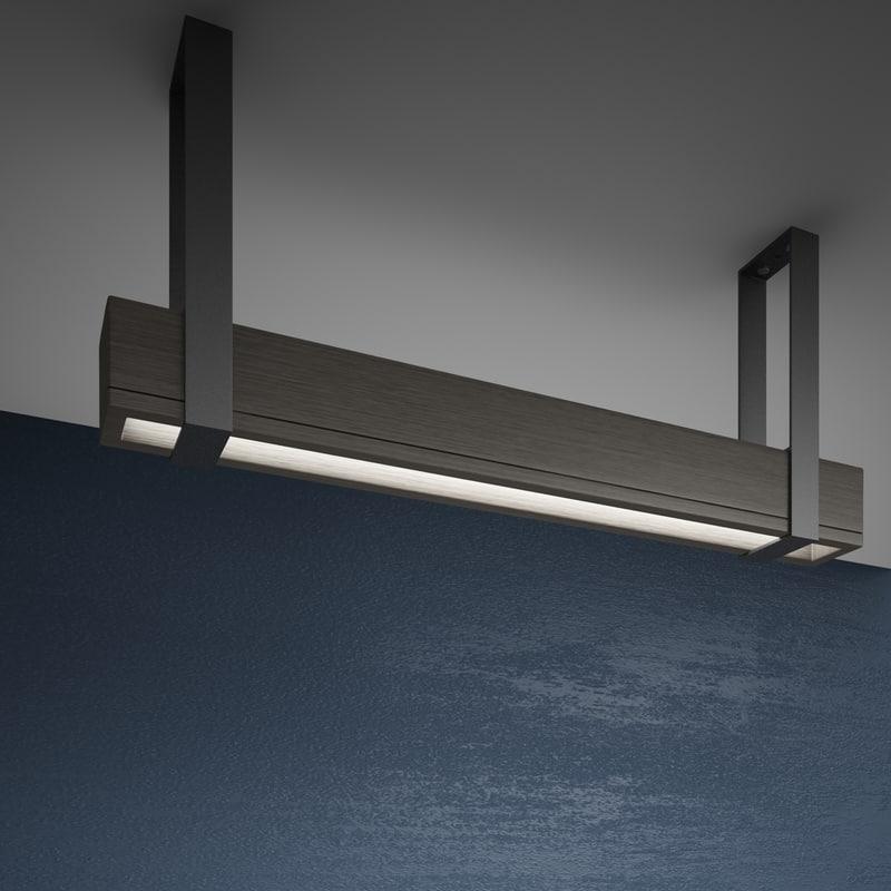 3D ceiling lamp modern model