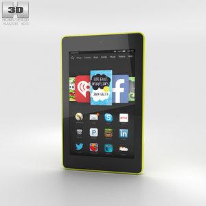 hd 6 amazon 3D model