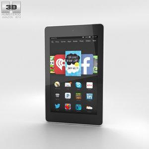 3D hd 6 amazon model