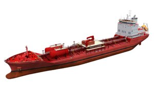 145m chemical tanker model