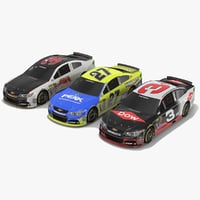 pack nascar cars richard model