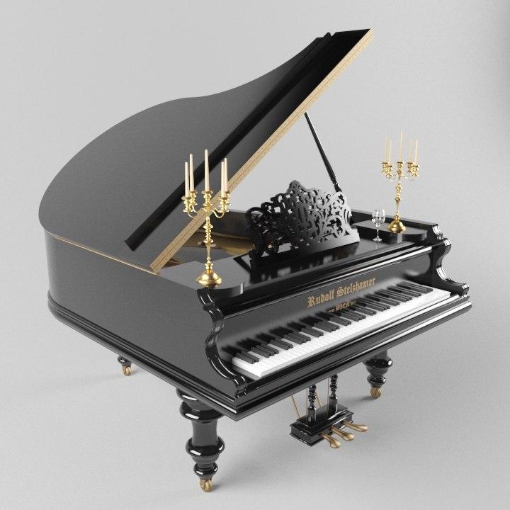 piano model