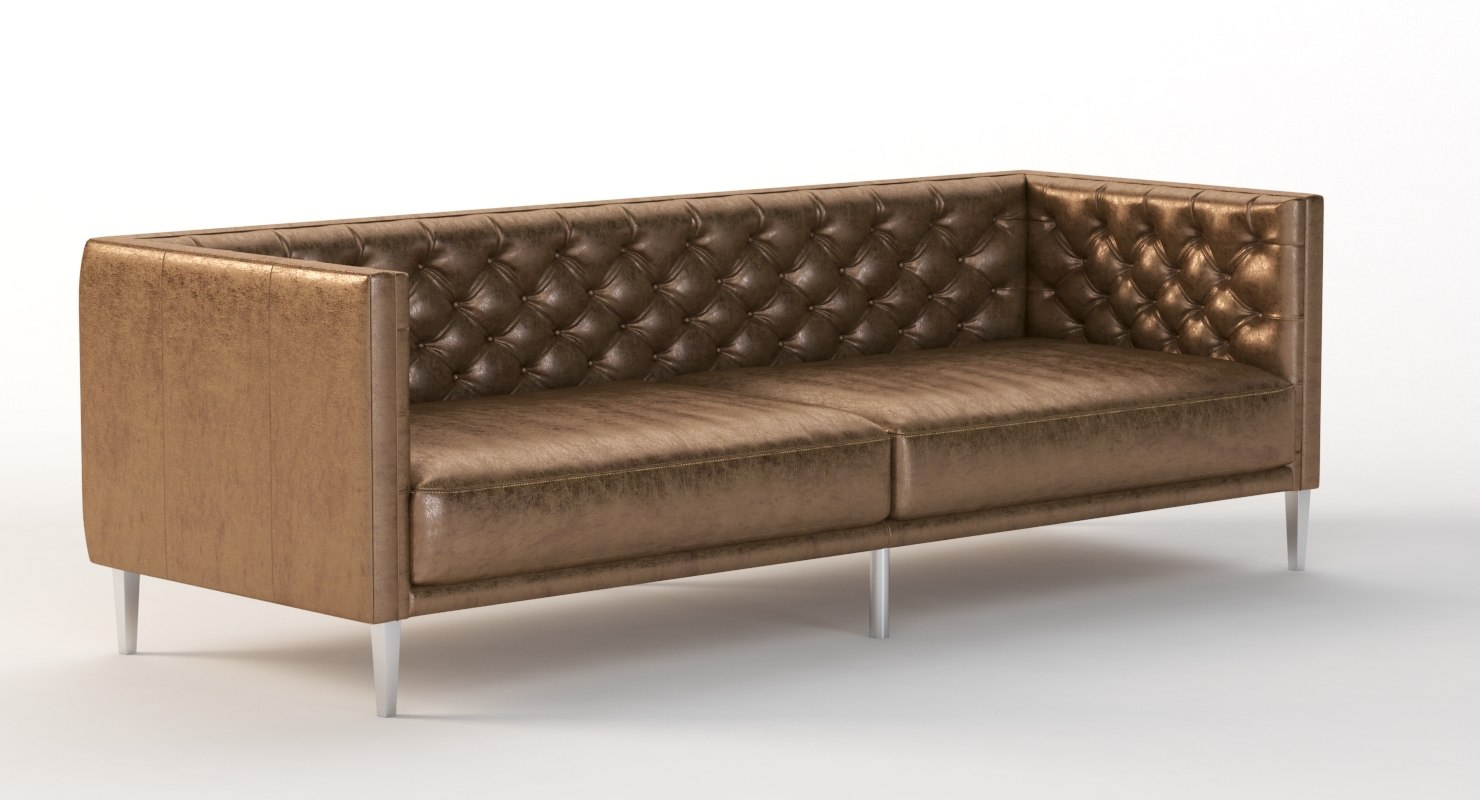 3D realistic photoreal tufted