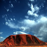 3D model ayers rock urulu