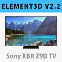 E3D - Sony XBR Z9D TV 3D