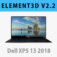 E3D - DELL XPS 13 2018 Black