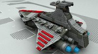 3D lego sw venator model