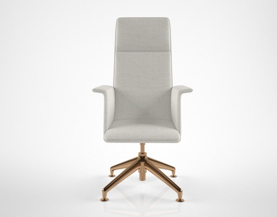 brunnet finasoft conference chair 3D