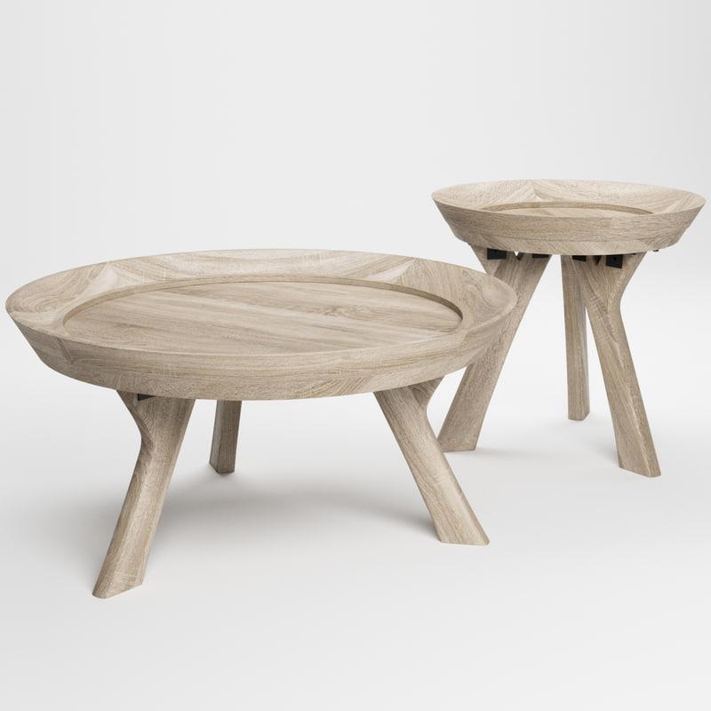 moraga coffee table 3D model