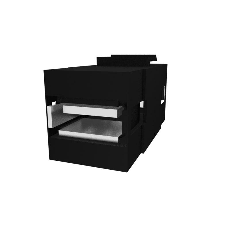3D usb keystone model
